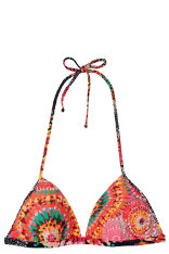 Swimwear Desigual Naranja Top