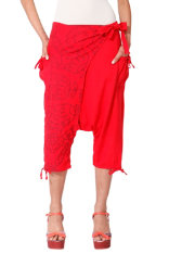 Trousers Desigual Red