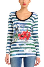 T-shirts Desigual Judith Long