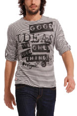 Alles sehen Desigual Gray Stripes