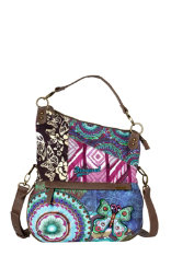 Bags & Accessories Desigual Folded Bruselas Blue