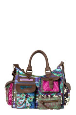 Bolsos Desigual London Bruselas Blue