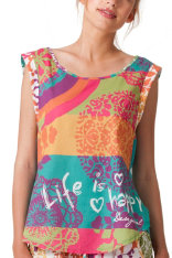 ¡NUEVO! Pijamas Desigual Night New Rainbow