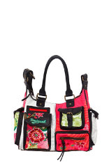 Bolsos Desigual London Floreada