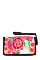 Wallets Desigual Zipper Floreada