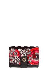 Monederos Desigual Lengueta Flower Geometri