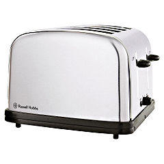 Russell Hobbs 4 Slice Brushed Stainless Steel Toaster