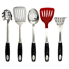 Tu 5 Piece Utensil Set Black