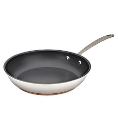 Different by Design Copper Bottom Stainless Steel Non stick Frying Pan 24cm