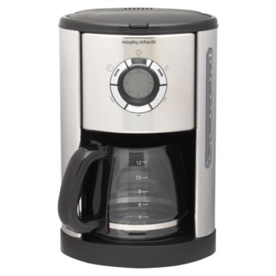 Micromark+Filter+Coffee+Maker+Single+Jug+Capacity+10+Cups+White+Ref+MM9843