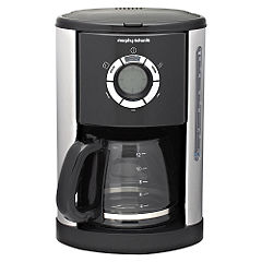 Morphy Richards Accents Jet Black Filter Coffee Maker