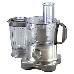 Kenwood Multipro Compact Food Processor Aluminium