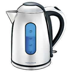 Morphy Richards Accents Black and Stainless Steel Jug kettle