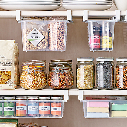 Kitchen Storage Solutions Organising